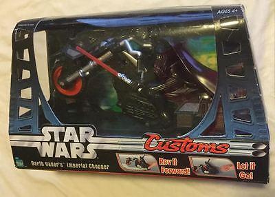 Star Wars Customs Darth Vader's Imperial Chopper Brand New