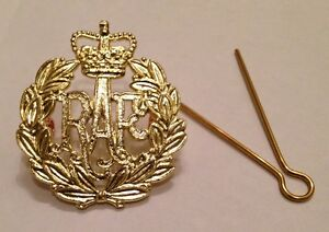 RAF Beret Badge, Brass, Army, Military, Hat, Royal Air Force, Cap, R.A.F, Metal