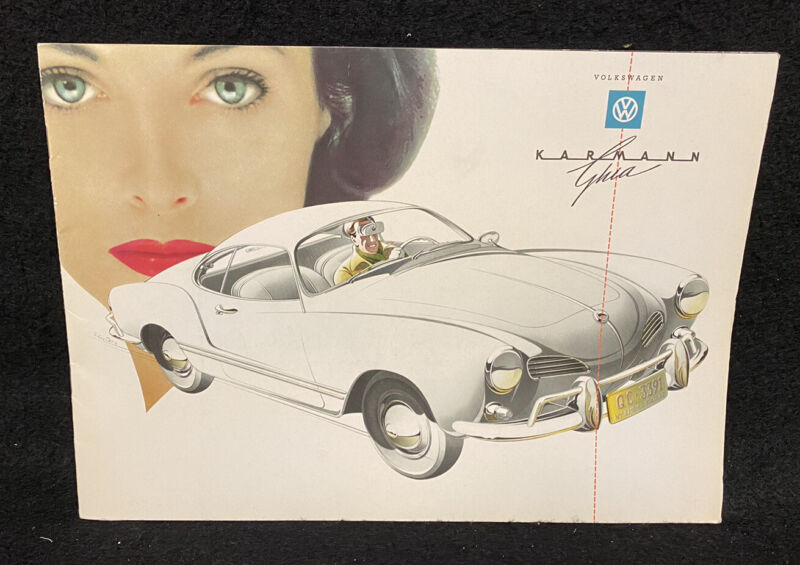 Volkswagen VW Karma Ghia Brochure
