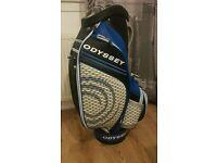 Odyssey works tour/trolley golf bag