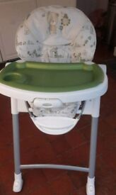 Graco Benny and Bell High Chair