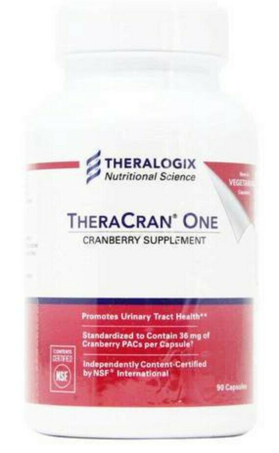 TheraCran One by Theralogix - Urology Supplements 90 Day Supply (expires 11/21)