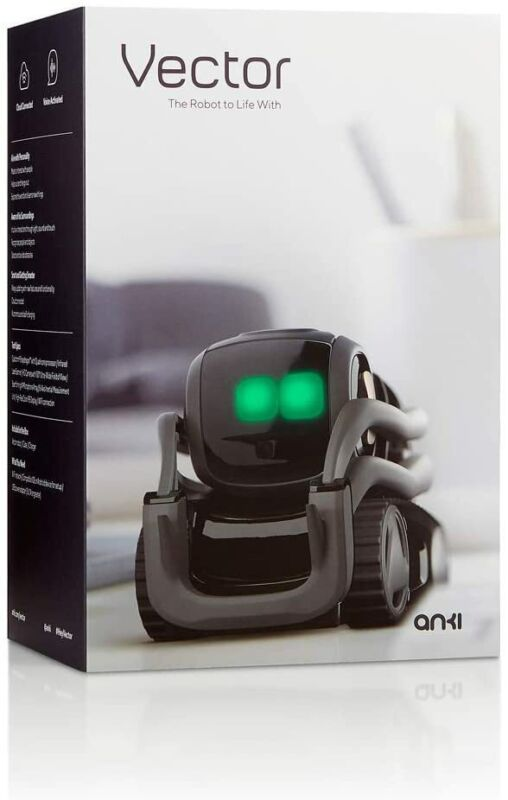 Vector Robot by Anki, A Helpful Robot for Your Home [Vector / Alexa, 720p] NEW