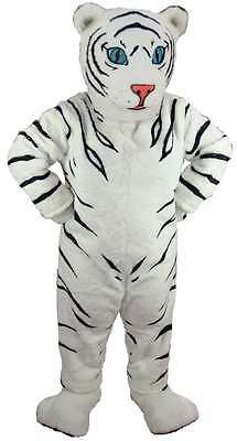 White Tiger Cub Professional Quality Lightweight Mascot Costume Adult Size](White Tiger Costumes)
