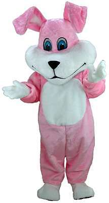 Super Pink Bunny Professional Quality Lightweight Mascot Costume](Super Bunny Costume)