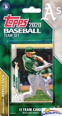 Oakland Athletics 2020 Topps Limited Edition 17 Card Team -