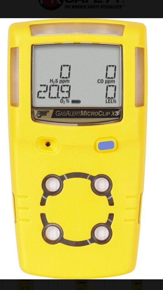 Bw Honeywell 4 Gas Monitor - $100.00