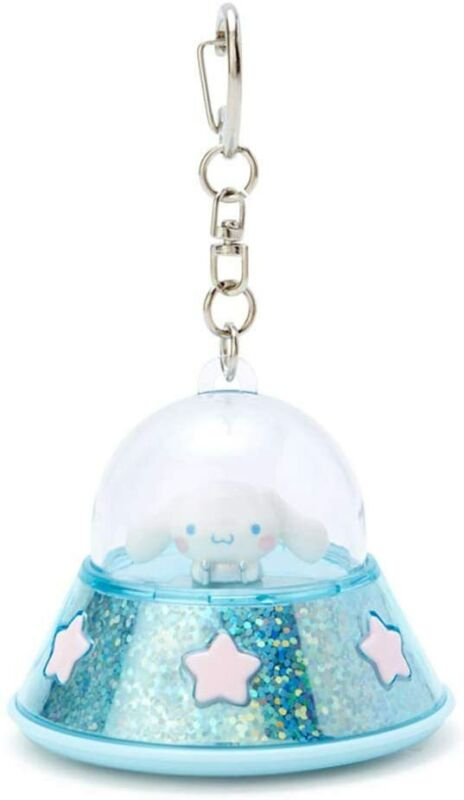 SANRIO CINNAMOROLL Blue Light Keychain UFO Strap Official Goods from JAPAN [New]