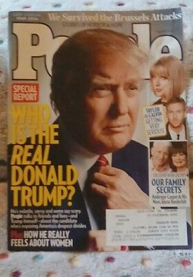 PEOPLE Magazine - April 11 2016 - The Real Donald Trump