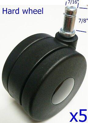 Oajen 4 100mm Twin Wheel Caster Furniture Wheel 716 X 78 Grip Ring Stem