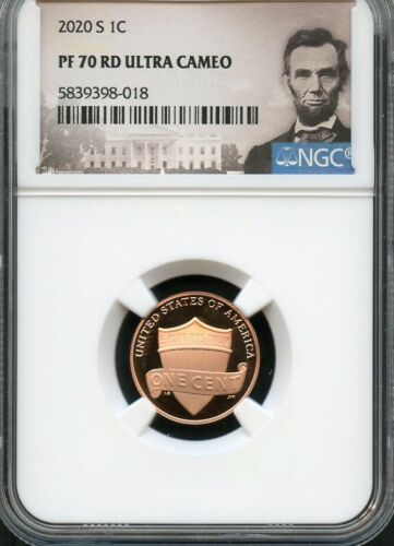 2020 S Lincoln Cent NGC PF70 RD UltraCameo (Portrait)
