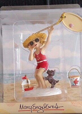 Mary Engelbreit-ANN ESTELLE SUMMER Beach Hand-Sculpted Resin Ornament--NEW!