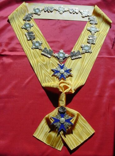 big PRUSSIA Collection of Highest Black Eagle Order incl. Collar, Sash and Cross