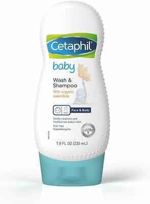 Cetaphil Baby Wash and Shampoo with Organic Calendula, 7.8 (Cetaphil Baby Wash And Shampoo With Organic Calendula)