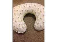 Breast feeding pillow, with 2 removable covers.