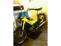 Puch moped for sale. Recent rebuild. Cash sale only. No offers