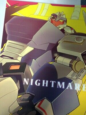 Transformers yaoi Doujinshi BREAKDOWN (B5 34pages) Ochawan NIGHTMARE wakachiko