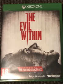 The Evil Within for sale Xbox one