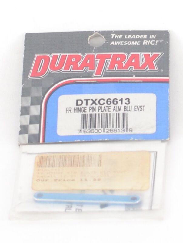 DTXC6614 DURATRAX FRONT HINGE PIN PLATE ALUMINUM PURPLE EVST EVADER
