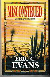 Misconstrued-A-Sam-McKall-Mystery-PB-2003-VG-Eric-C-Evans