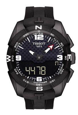 New Tissot T Touch Expert Solar Black Dial Mens Watch T0914204705701
