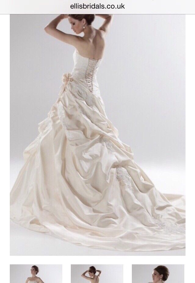 Ellis Bridal, size 14 Princess and the frog wedding dress   in ...