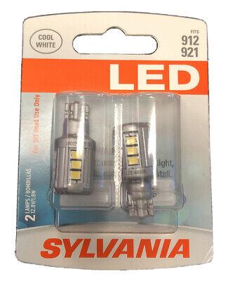Sylvania LED 912 Pair Set LED Lamps Bulbs 921 NEW