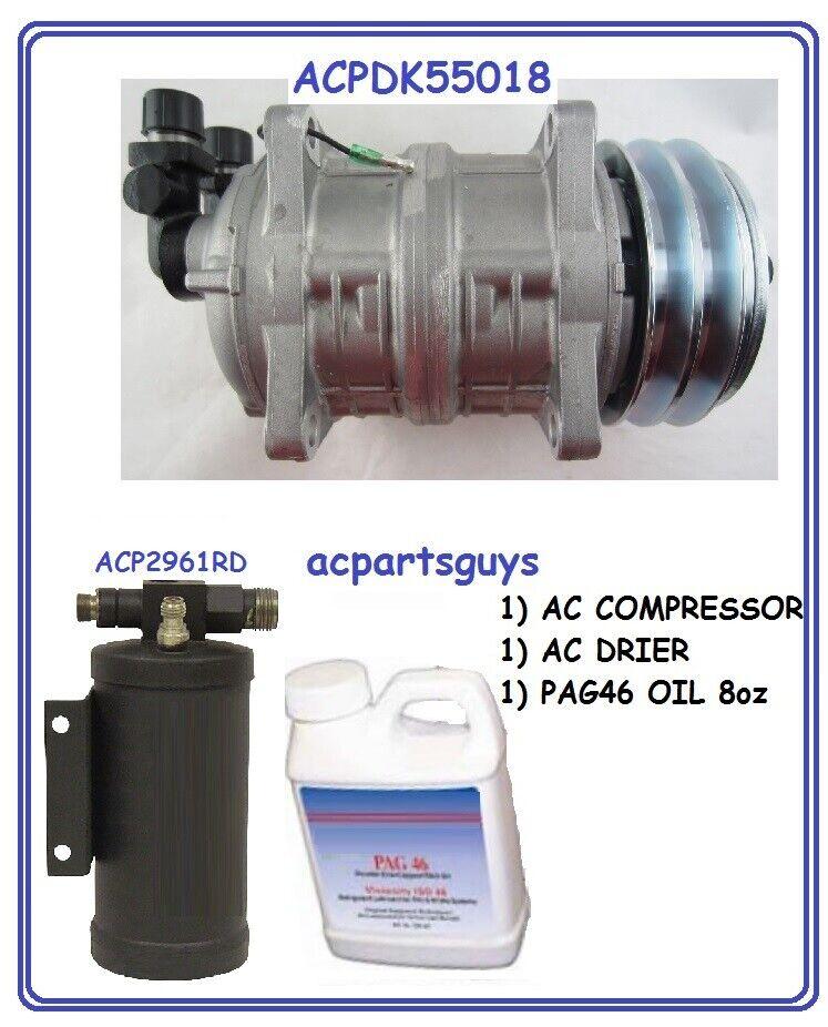Compressor KIT for Freightliner RV 22-51980 VERTICAL TM15HS NEW SAEJ639 2961