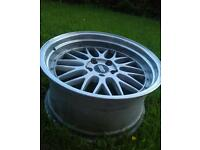 "4×19"" BBS LM style alloy wheels for VW, Audi, Skoda, Seat"