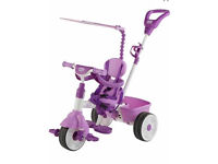Kids Little Tikes 4-in-1 Trike Deluxe Tricycle Happy Girls Child Fun Gift Pink