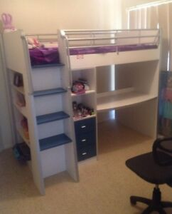Kids bunk bed with desk Ormiston Redland Area Preview
