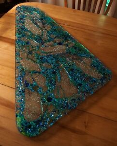Exquisite Glass Platters  Campbell River Comox Valley Area image 2