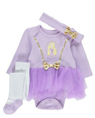 Brand new Disney Rapunzel 3 Piece Outfit  9-12 months  old - 9 Month Old Costumes