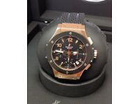 BRAND NEW HUBLOT BIG BANG CLASSIC FUSION ROSE GOLD SILVER