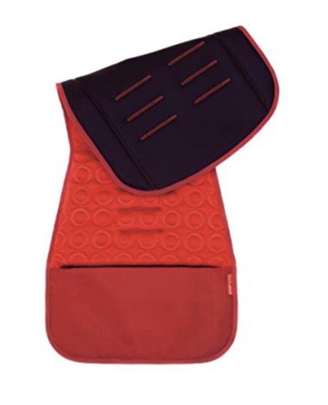 Skip Hop Memory Foam Stroller Seat Liner- Red ✔️
