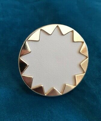 House of harlow 1960 Sunburst Ring - Ivory/Gold Size 7 - Preloved