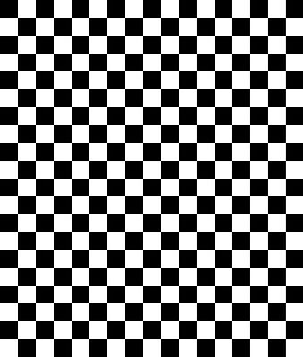 Racing Cars Party Scene Setter Room Backdrop Self Adhesive Black/White CHEQUERED