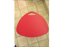 Ikea red laptop table price reduced