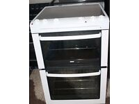 ZANUSSI 60cm ELECTRIC COOKER, NEW MODEL ,EXCELLENT CONDITION, 4 MONTHS WARRANTY