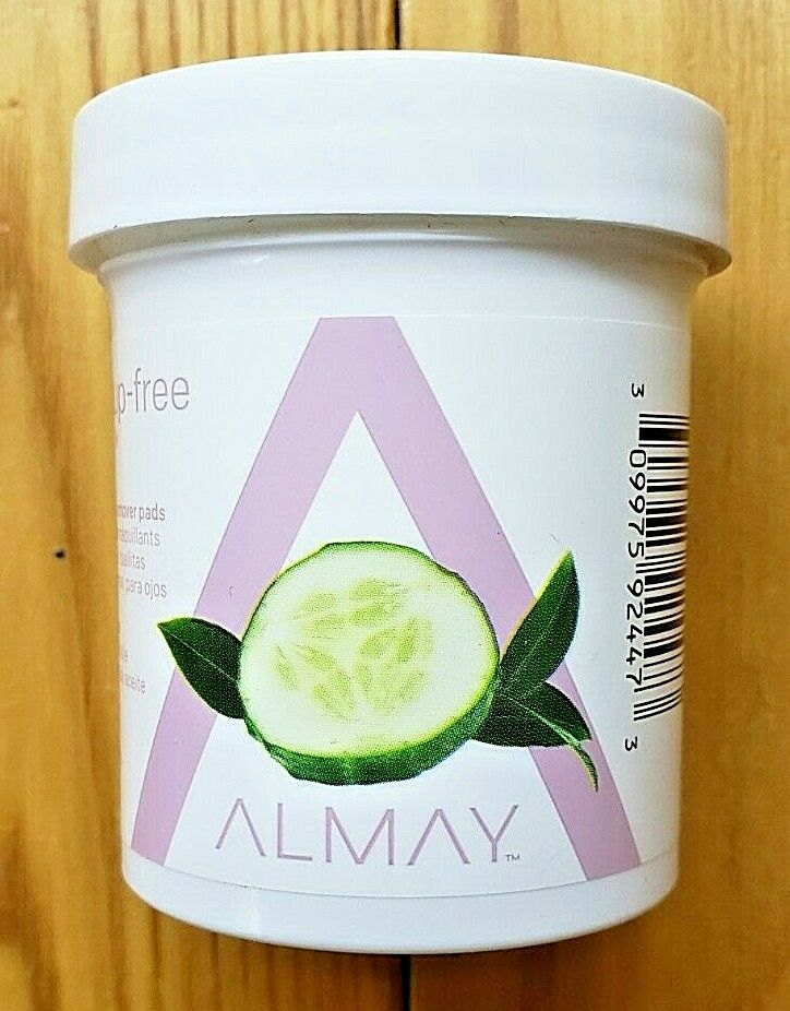 NEW ALMAY GENTLE OIL FREE EYE MAKEUP REMOVER 80 PADS