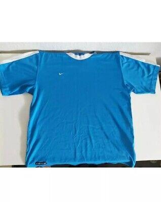 Vintage Nike T Shirt Blue