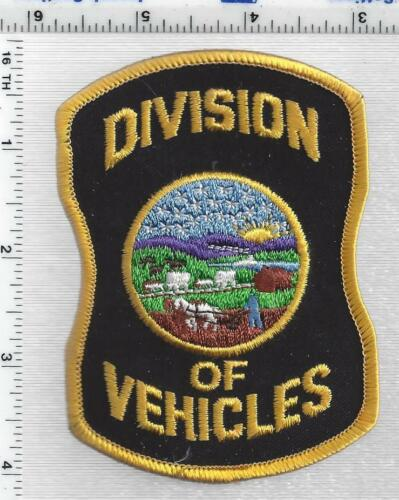 Division of Vehicles (Kansas) 1st Issue Shoulder Patch