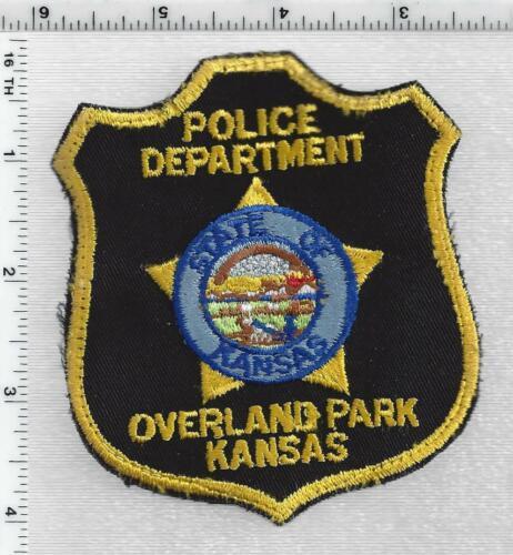 Overland Park Police (Kansas) 2nd Issue Uniform Take-Off Shoulder patch