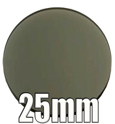 Linear Polarizing Filter Set Of Two 25mm Diameter Microscope Optical Devices