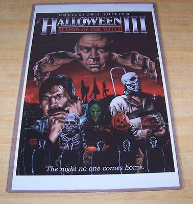 Halloween III 3 11X17 Movie Poster Alternate Version Tom Atkins - Halloween 11 Movie