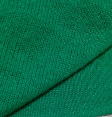 GREEN SWEATER KNIT FABRIC-SOLD BY THE METER