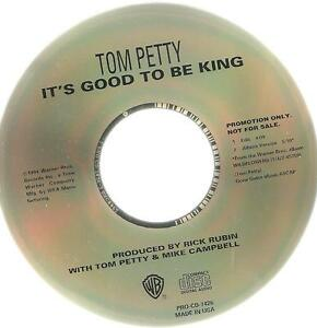 A2 USA PROMO cd single TOM PETTY IT'S GOOD TO BE KING PRO CD 7426 - Italia - A2 USA PROMO cd single TOM PETTY IT'S GOOD TO BE KING PRO CD 7426 - Italia
