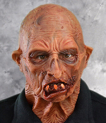 Zombie Supersoft Dead Freak Halloween Full Whole Head Scary Adult Latex Mask