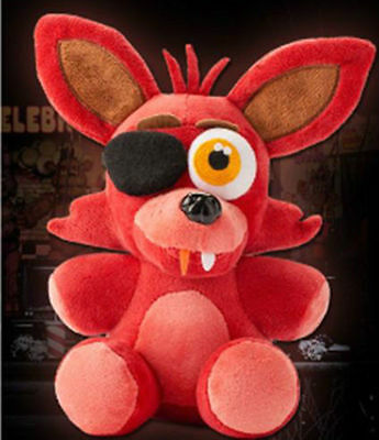 7  Five Nights At Freddys Fnaf Horror Game Plush Doll Stuffed Bear Foxy Bonnie