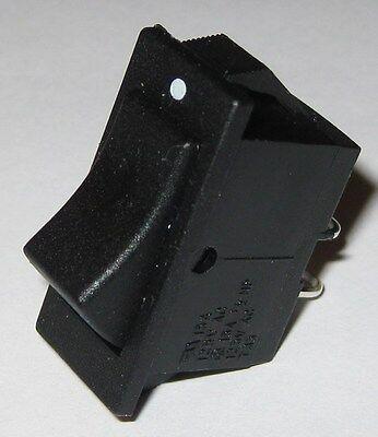 Miniature Rocker Switch - Spst - 125v Ac 15a - 12 Hp - Swann Industries 39